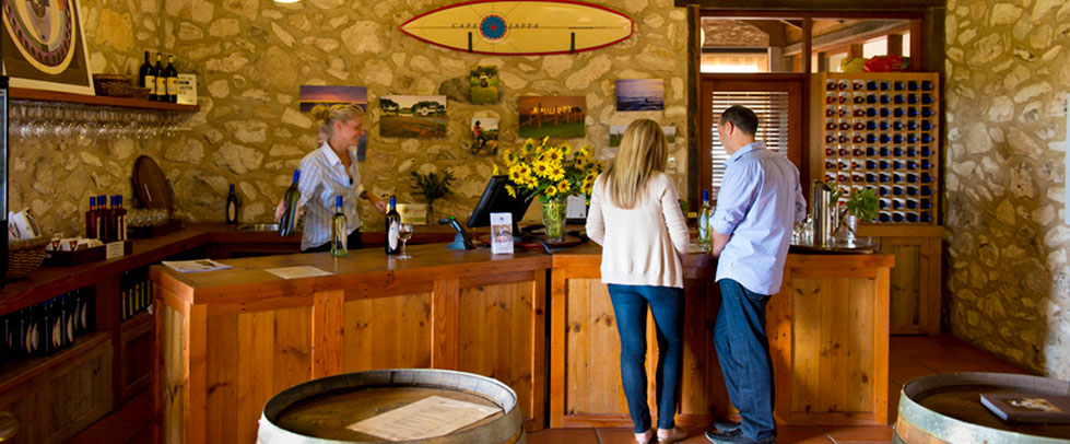 Visit Cape Jaffa Wines and Wangolina Cellar Door